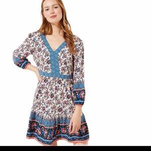 Loft Beach Floral Dress